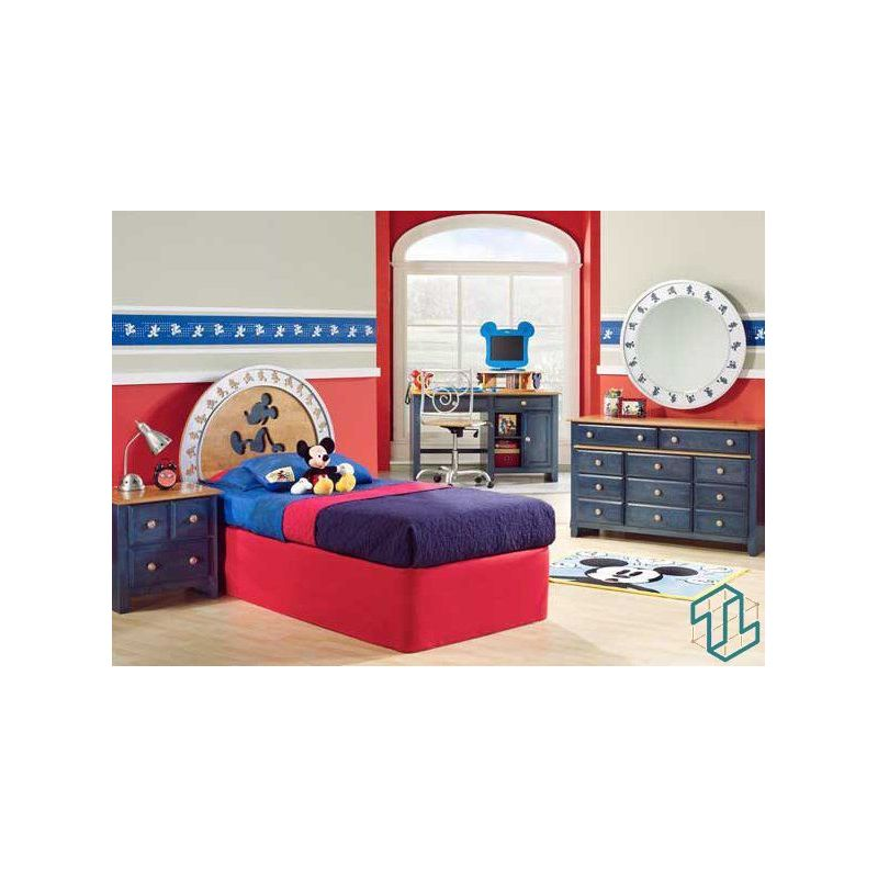 Furniture Kids Bedroom Mickey Blue