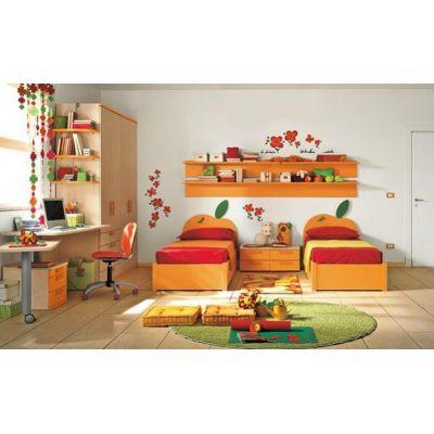 Kids bedroom ORANGE