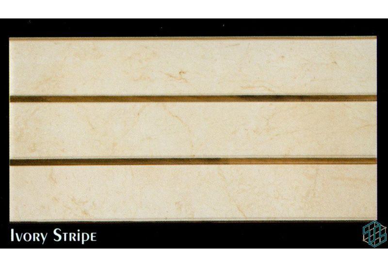 Alexandra (Ivory Stripe) - Wall Tile