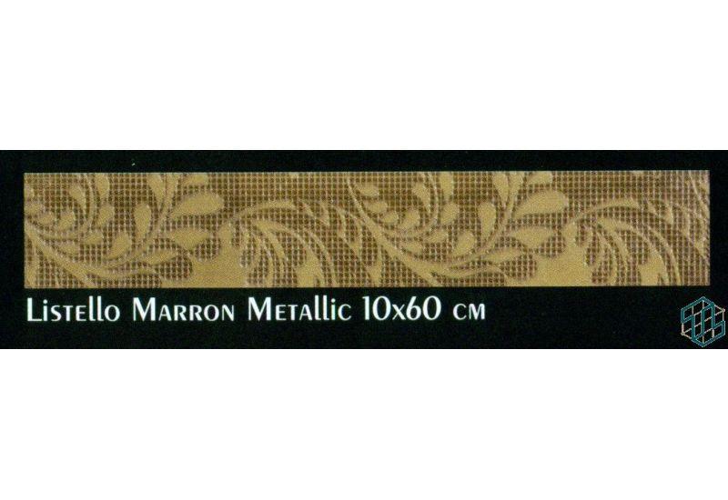 Alexandra (Single Marron Metallic (10-60 cm))