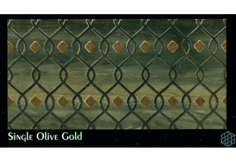Victoria (Single Olive Gold) - Wall Tile