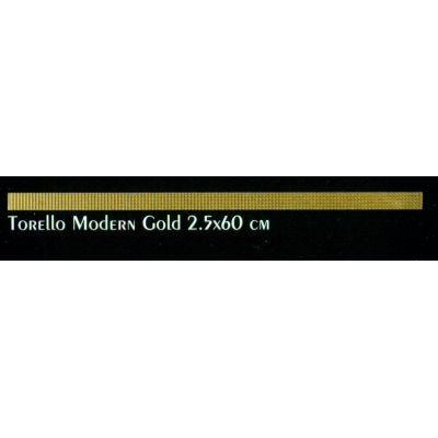 وزره سيراميك الجوهرة للحوائط فيكتوريا توريلو مودرن جولد 2.5*60