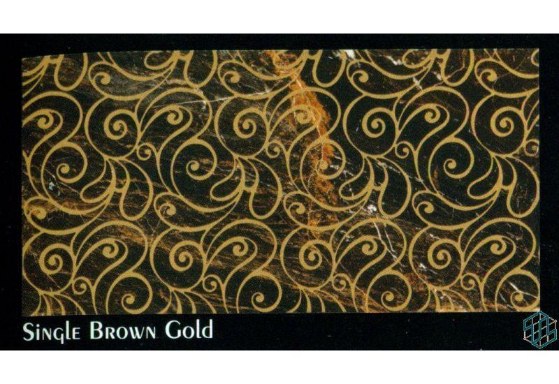 Regency (Single Brown Gold) - WallTile