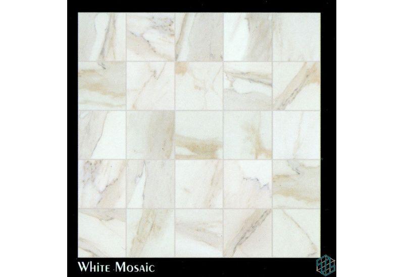 Vendome (White Mosaic) - Floor Tile