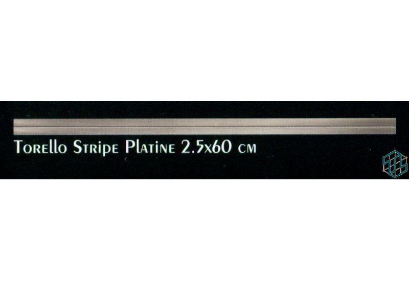 Torello Stripe Platine (2.5-60) cm