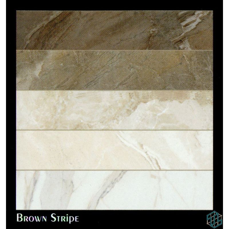 Vendome (Brown Stripe) - Floor Tile