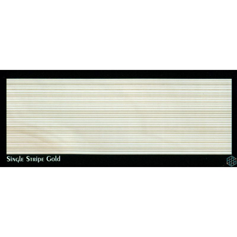 Cloud(single Stripe Gold) - Wall Tile