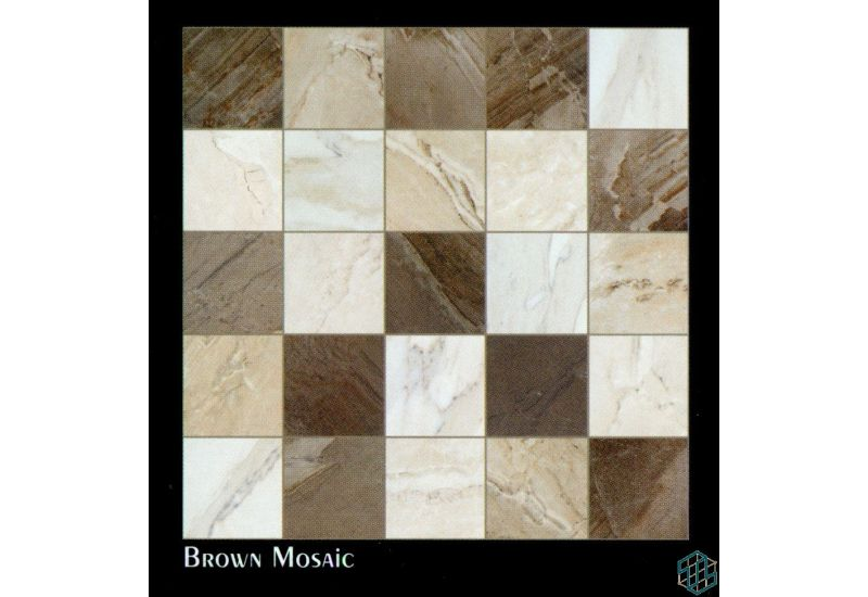 Vendome (Brown Mosaic) - Floor Tile