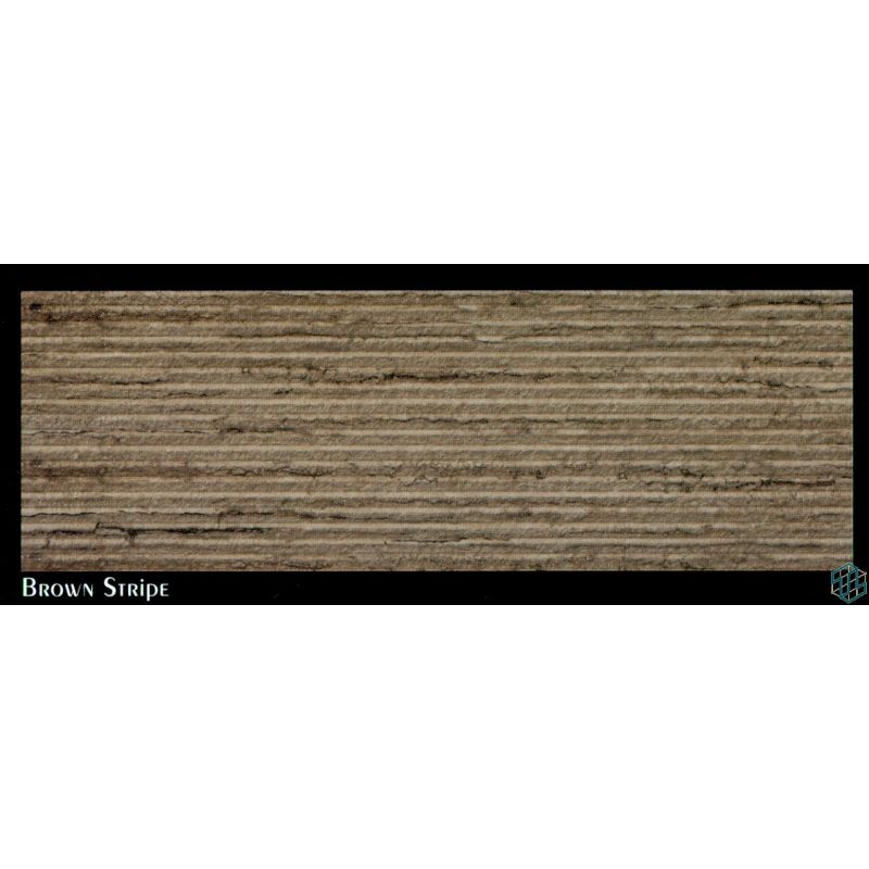 Palmera (Brown Stripe) - Wall Tile