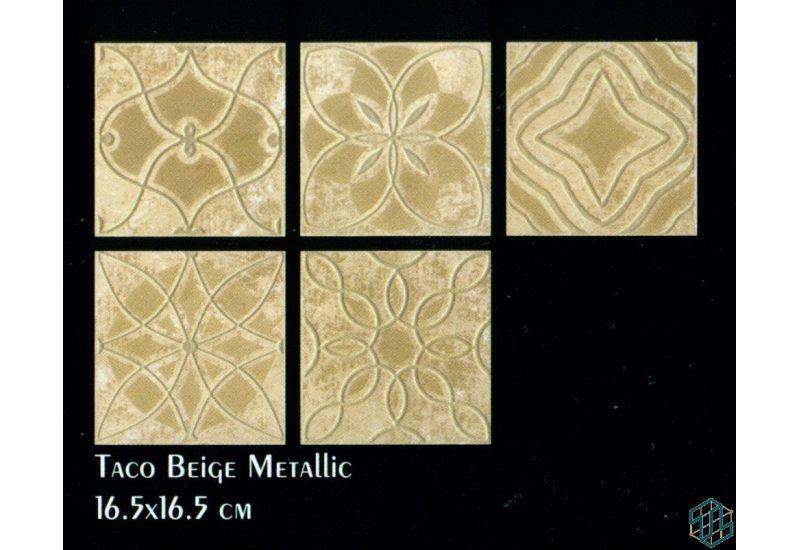 Slate (Taco Beige Metallic (16.5-16.5 cm))