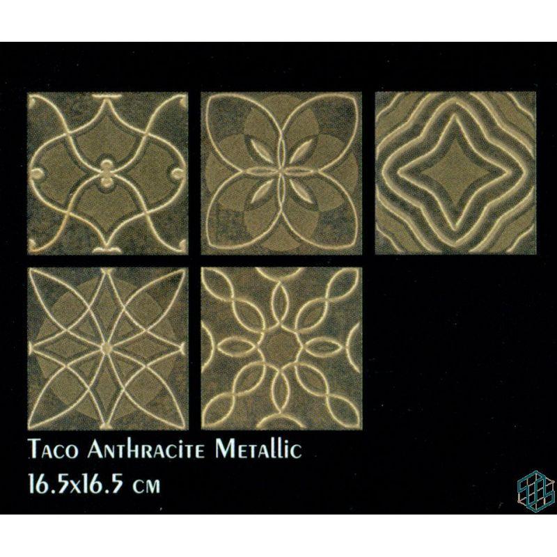 Slate (Taco Anthracite Metallic (16.5-16.5 cm))