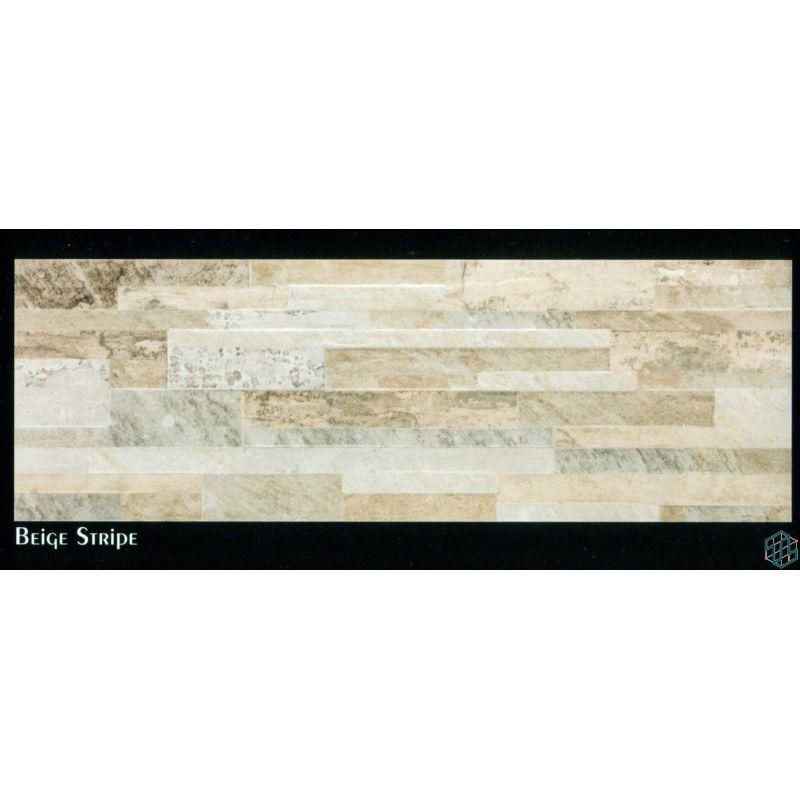 Slate (Beige Stripe) - Wall Tile