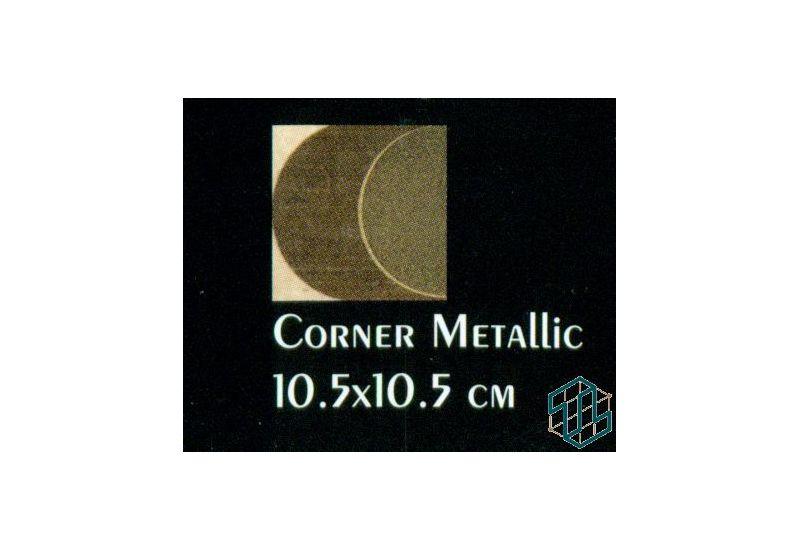 Ceramic Tiffany (Corner Metallic (10.5-10.5 cm))