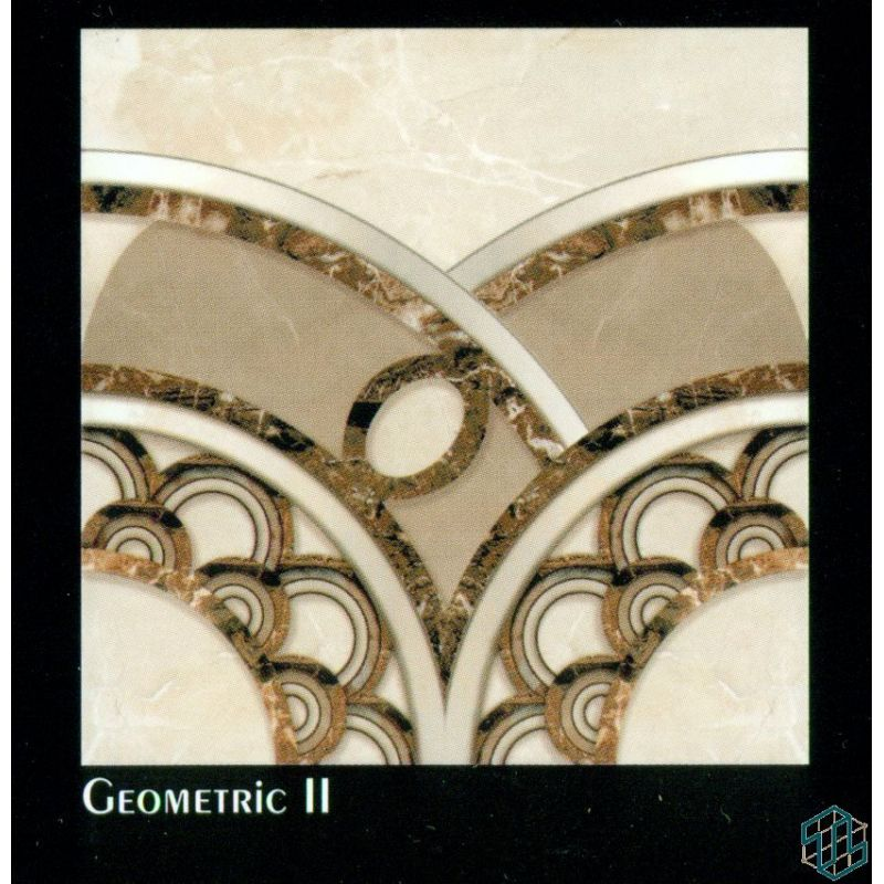 Dynasty (Geometric 2) - Floor Tile