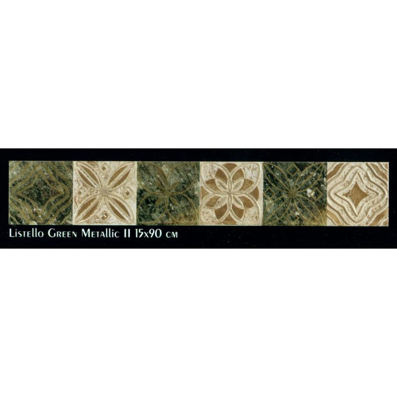 Slate (Listello Green Metallic 2 (15-90 Cm))