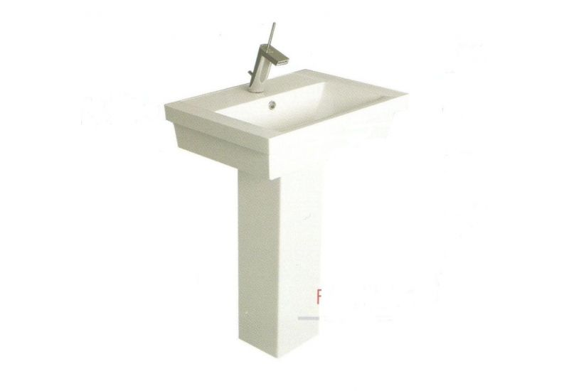 STRASBOURG Basin 60cm floor pedestal
