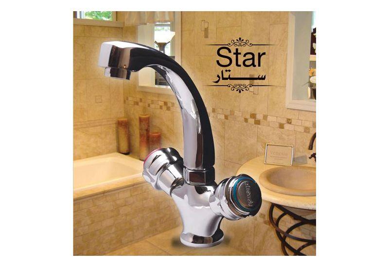 Mono-Block Basin Mixer(Star)