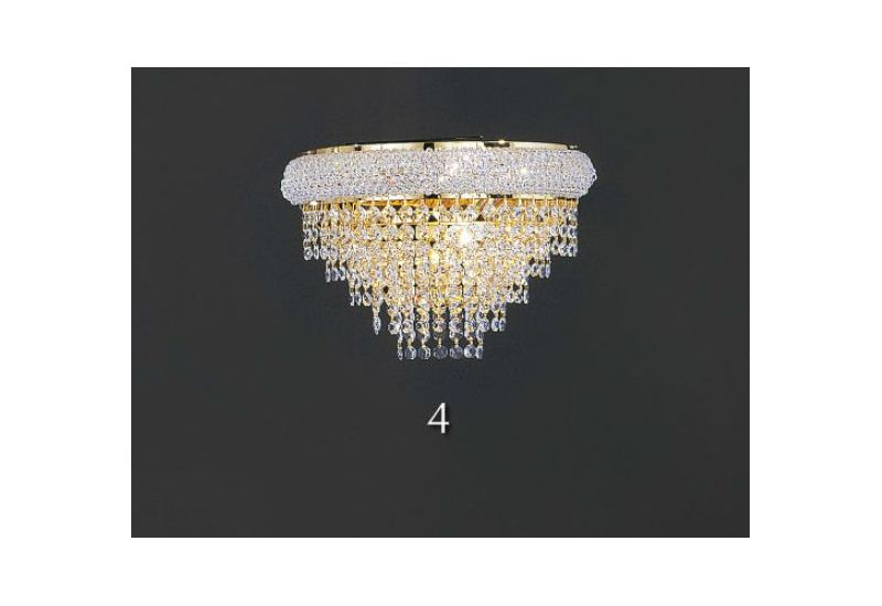 White Crystal Wall Chandlery
