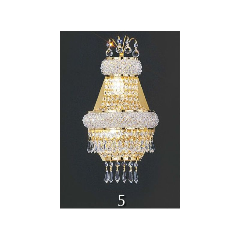Crystal Chandeliers at Tiles and Tools.com from Asfour Crystal in Egypt