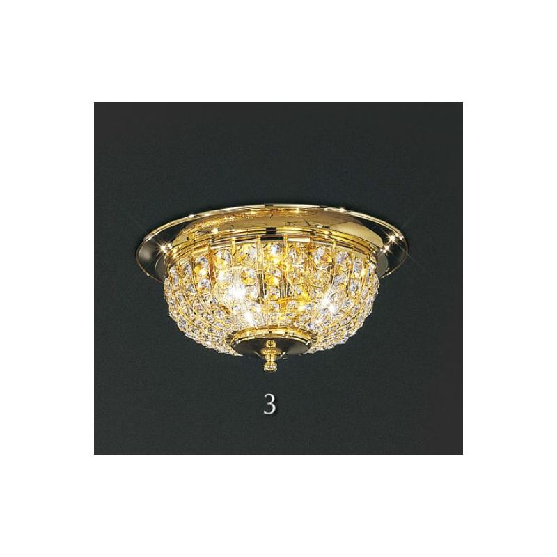 Circle Crystal Chandeliers PL923/48