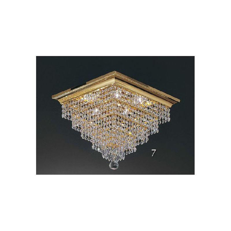 Square Crystal Chandelier PL5614/40