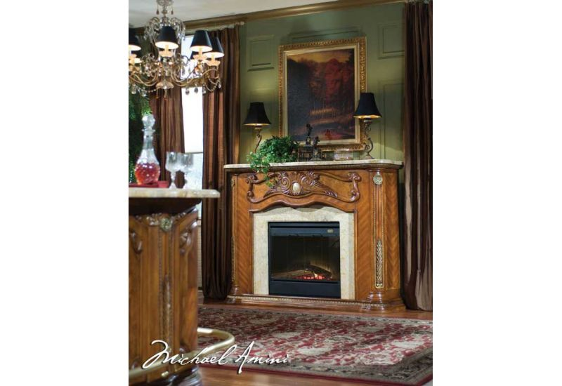 Fireplace Counter