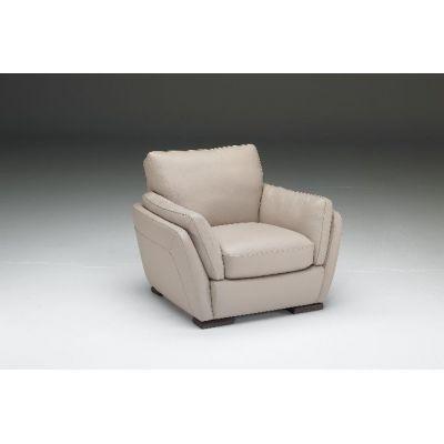 الكرسى الجلد الأبيض