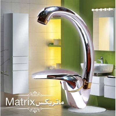 High Mono-Block Basin Mixer(Matrix)