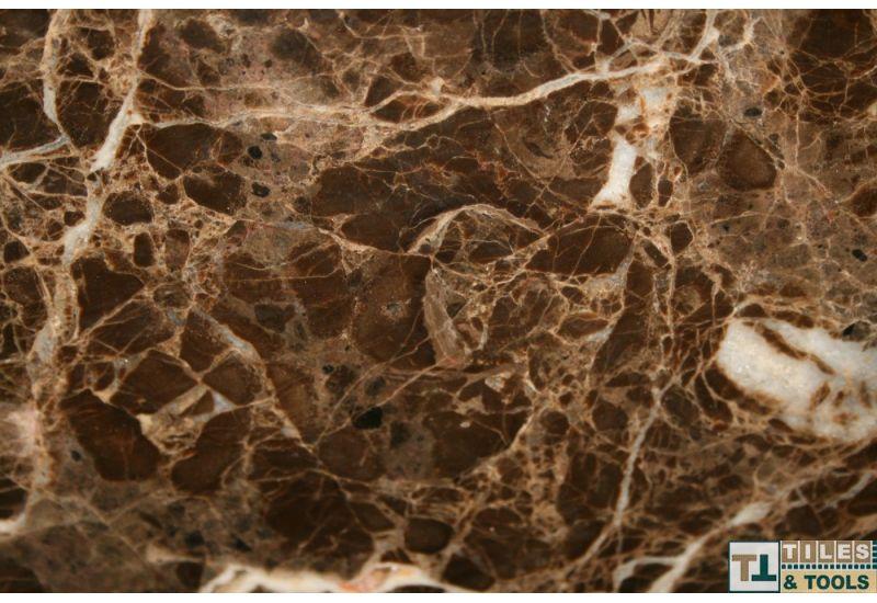 Dark Emprador Flooring Marble