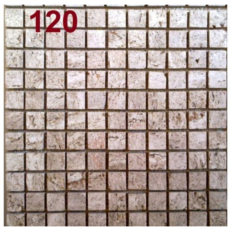 Mosaic Beige Travanten 120