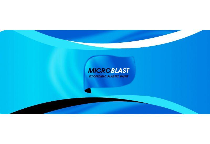 Micro Blast (Economic Plastic Paint)