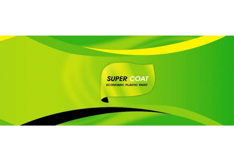 Super Coat (Economic Plastic Paint) 1