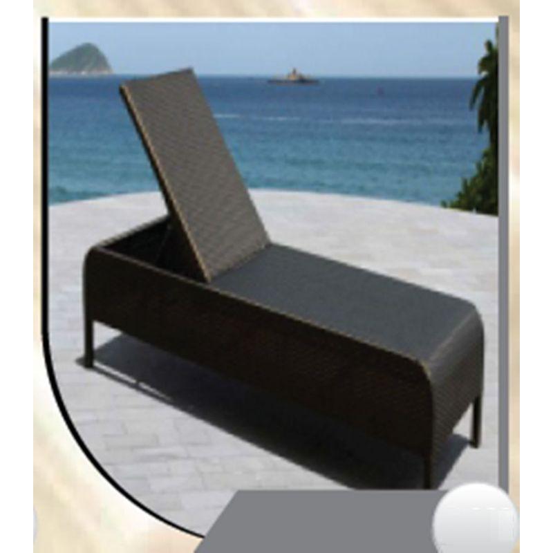 Modern Wicker Chaise Lounge(R 368)