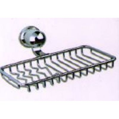 Chrome Bathtub Net Soap Dish