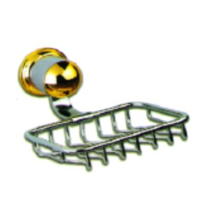 Goldena Chrome Wire Soap Basket