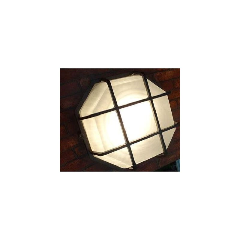 Octagonal Lantern With Net 1