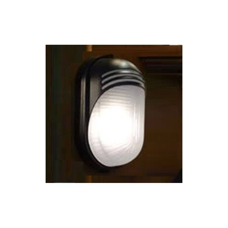 Wall Unit Light Bulbs : Electrical and Lighting Small Oval Wall Lighting Unit