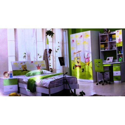 Sponge Pop Kids bedroom