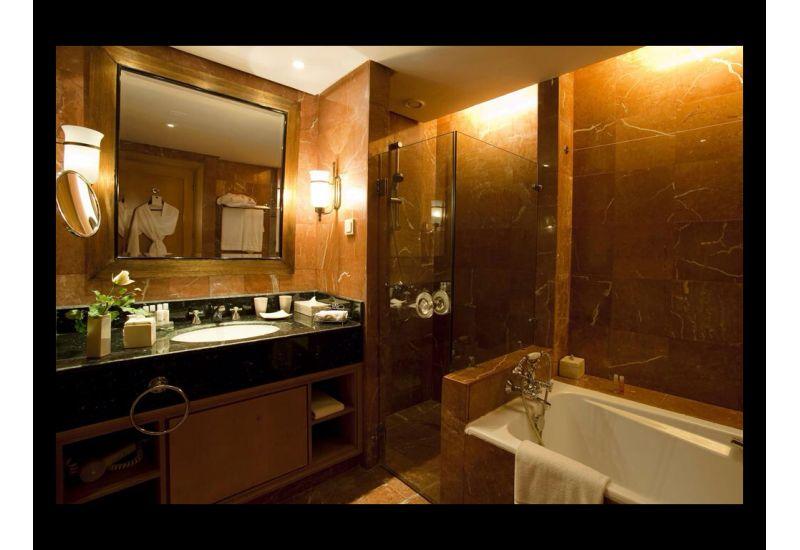 Marbled Bathroom