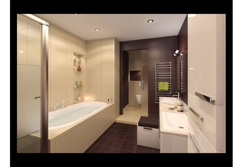 Hotel bathroom design
