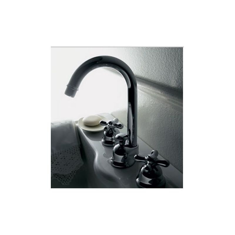 Azimuth 3 Hole with High Spout Basin Mixer