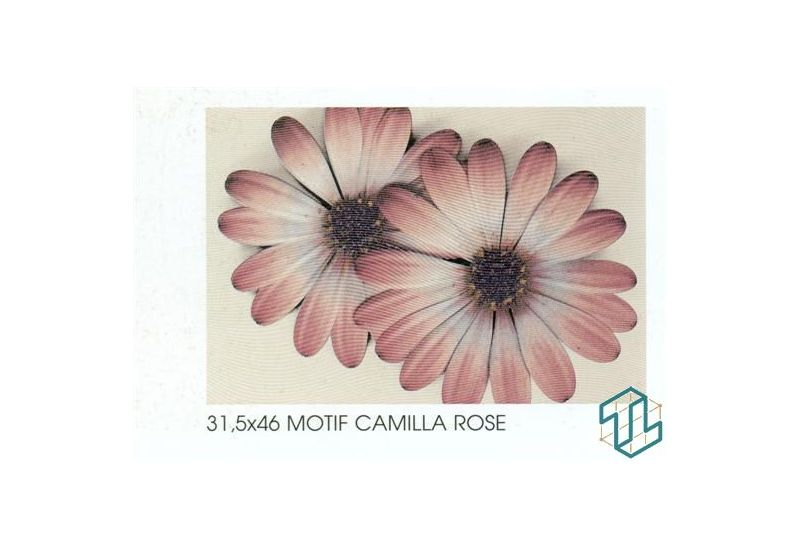 Camilla Motif Rose - Wall Tile