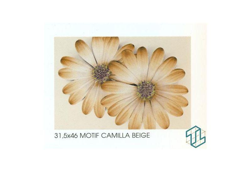 Camilla Motif Beige - Wall Tile