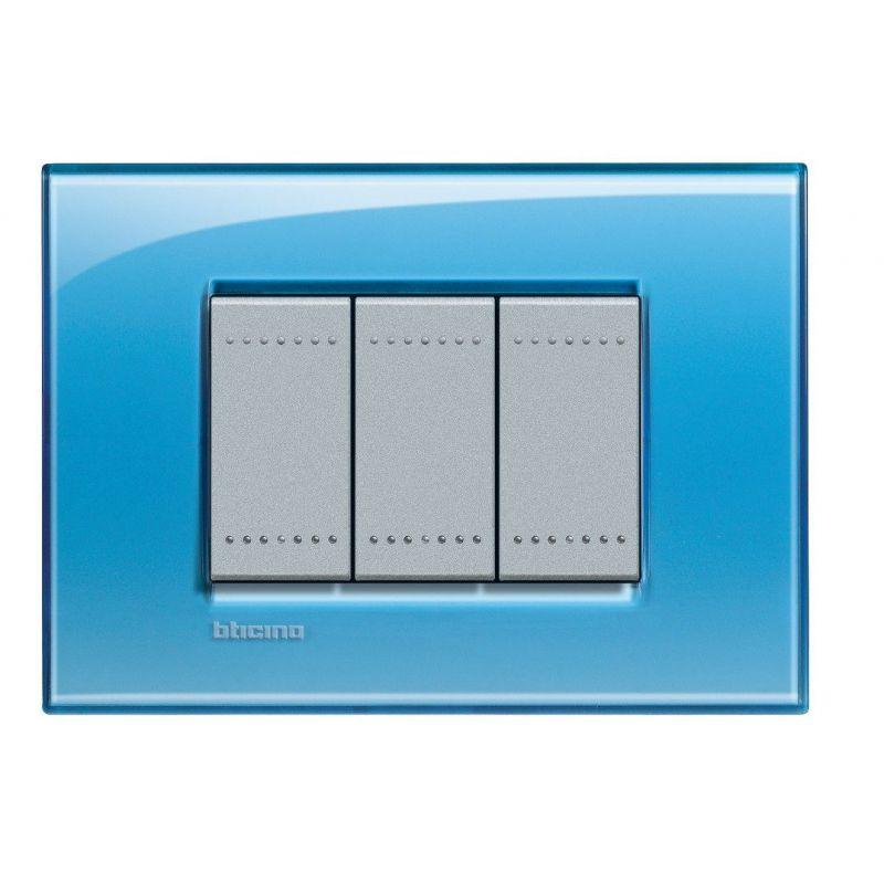 Deep Cover Plate Three Modules