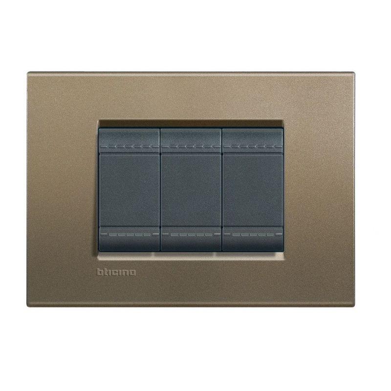 Silk Cover Plate Three Modules