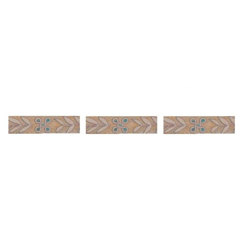 "Ceramic Floor Skirt ""Majestic Collection - IJ 9114 Geometric"""
