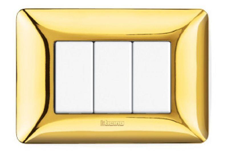 Shiny Gold Galvanics Cover Plates
