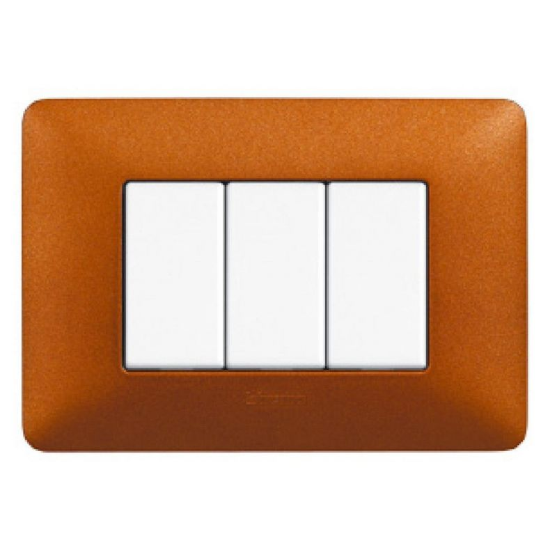 Terracotta Texture Cover Plates Three Modules