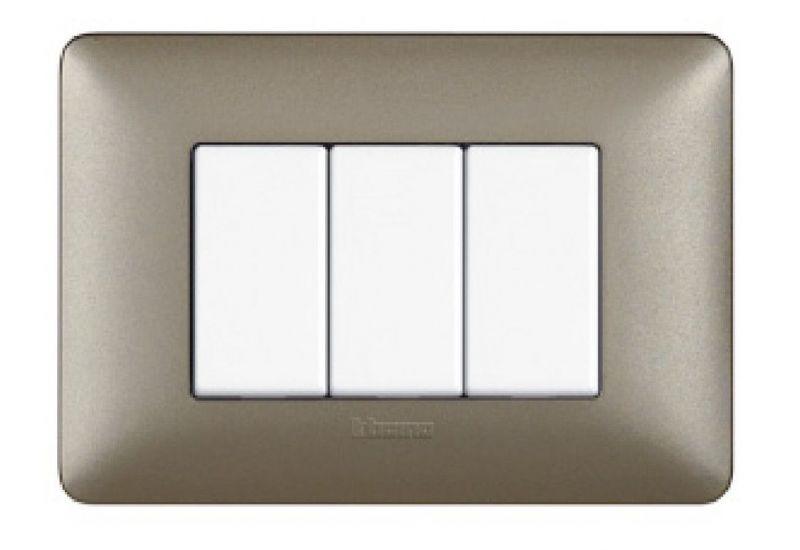 Titanium Metallics Cover Plates