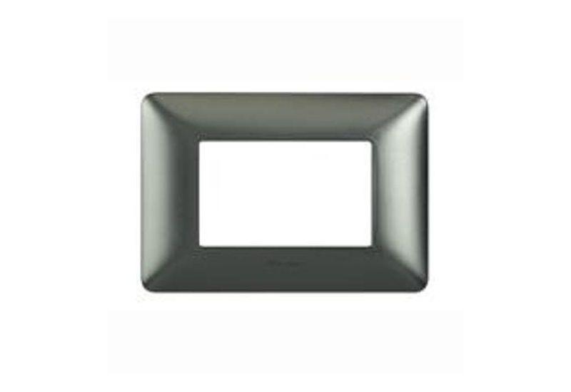 Black Nichel Galvanics Cover Plates Two Modules